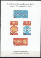 Germany -  Spezialbeleg / Special Document (w502) - Estate 1976: Montreal