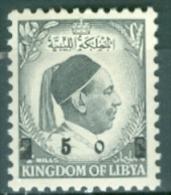 Libya 1955 King Idris Overprint MNH** - Lot. 3471 - Libye
