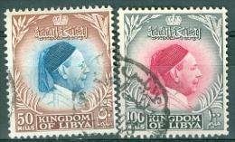 Libya 1952 King Idris 50 And 100m  - Lot. 3473 - Libye