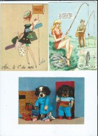Lot CPA -CPSM -CM -  66 Cartes Divers - 5 - 99 Postkaarten
