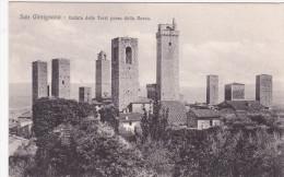 SAN GIMIGNANO, Toscana, Italy, 1900-1910's; Veduta Delle Torri Presa Dalla Rocca - Italie