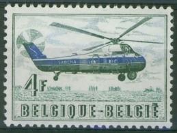 Belgium**Sikorsky Helicopter-1st Airmail Flight-1950-MNH-Hélicoptère-Hubschrauber-Poste Aérienne - Belgium