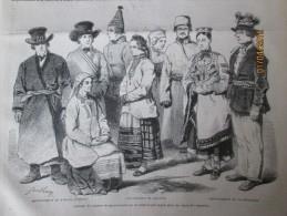 1850 Saint Petersbourg Russie   COSTUMES DE PAYSANS   GOUVERNEMENT DE   MOHILEFF WIBOURG (finlande) Courlande - Non Classés