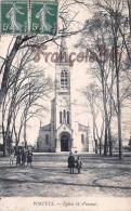 (33) Portets - Eglise Saint St Vincent - 2 SCANS - Frankrijk
