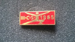 Spilla Smaltata 1965 (sport?) - P8 - Pin's