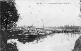 LILLE LE TOURNANT DE LA HAUTE DEULE BEAU PLAN DE PENICHES - Lille