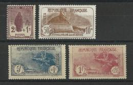 YVERT N°229/232 ** - COTE = 590 EUROS - ORPHELINS - France