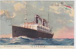 Esperia - Gran Espresso Europa-Egitto - SITMAR - 1925    (150407) - Comercio