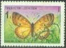 OZ 1992-2 BUTTERFLAY, OZBEKISTAN, 1 X 1v, MNH - Ouzbékistan