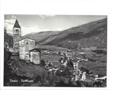 12216-   Tirano Panorama  Eglise (Format 10X15) - Sondrio