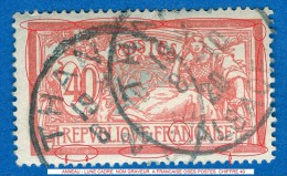 FRANCE ANNÉE 1900 / 01 N° 119  TYPE MERSON 8.10.1920 OBLITÉRÉ   3 SCANNE DESCRIPTION - Curiosities: 1900-20 Used