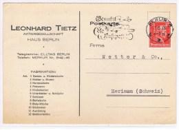 Th2. Perforé =L.T. =Fabrique: Vêtements/fourures/sous-vêtements Adultes/enfants Etc. Berlin 21.6.28 - Textile