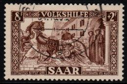 ~~~ Sarre  1950  - Aide  - Mi. 299  (o) - Cote 40.00 Euro ~~~ - Non Classés