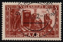 ~~~ Sarre  1950  - Aide  - Mi. 301  (o) - Cote 65.00 Euro ~~~ - Non Classés