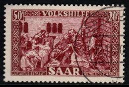 ~~~ Sarre  1950  - Aide  - Mi. 303   (o) - Cote 150.00 Euro ~~~ - Non Classés