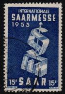 ~~~ Sarre  1953 - Marche De Saarbrucken  - Mi. 341 (o) ~~~ - Non Classés