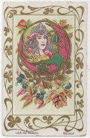 Femme Art Nouveau - Les Bijoux Modernes - Breloque    (76782) - Illustrateurs & Photographes