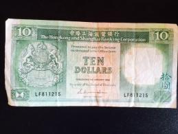 Hong Kong 10 Dollars - Hong Kong