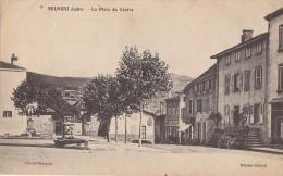 Belmont 42 - Place Du Centre - Editeur Buffard - Oblitération 1924 - Belmont De La Loire