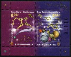 Montenegro 2009 Europa CEPT, Astronomy, Block, Souvenir Sheet MNH - Europa-CEPT