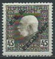 k.u.k. Feldpost, Mi.13* hinged, never used