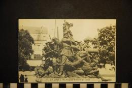 CP, 72, LE MANS Bas Relief Du Monument De Chanzy N° 16 Vierge - Le Mans