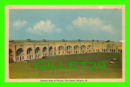 FORT HENRY, ONTARIO - GENERAL VIEW OF PARADE - PECO - - Ontario