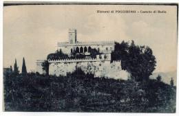 TOSCANA-SIENA-POGGIBONSI VEDUTA CASTELLO DI BADIA - Italia