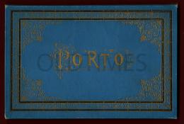 PORTUGAL - PORTO - ALBUM DE PRINTS DE MONUMENTOS, EDIFICIOS E RUAS DA CIDADE - 1910 ALBUM PRINTS - Kultur