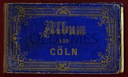 GERMANY - ALBUM VON COLN - ANSICHTEN DER STADTE - LITHOGRAPHISCHEN - 1900 ALBUM PRINTS - Books, Magazines, Comics