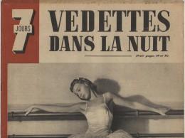 Jours, 1942, Vedettes, Gisèle Robin, Jean Rostand, Guerre Sur Mer - Libros, Revistas, Cómics