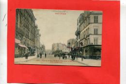 TOUT PARIS   1910   LA RUE DE BELLEVILLE PRISE DE LA BARRIERE       CIRC OUI - Arrondissement: 19