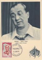 Carte  Maximum   1er   Jour     RAIMU       TOULON      1961 - Cartas Máxima
