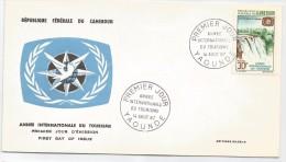 Cameroun 1967 450 FDC Tourisme - Chutes De La Sanaga - Cameroun (1960-...)