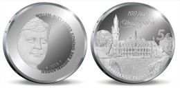 """HOLANDA  5€  2.013/2013  SC/UNC PLATA/SILVER    """"100 Aniversario Del Palacio De La Paz""""  T-DL-11.051 - Pays-Bas"""