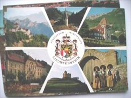 Liechtenstein Mit Staatswappen - Liechtenstein