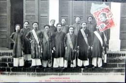 VIETNAM INDOCHINE COCHINCHINE  BARIA CHEFS ET SOUS CHEFS DE CANTON - Viêt-Nam