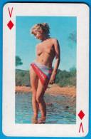 EROTIC - Vintage Single Swap/playing Card ( 1. Pcs. ) Erotique Carte à Jouer Erotik Spielkarte Erotico Erotica Erotiques - Playing Cards (classic)