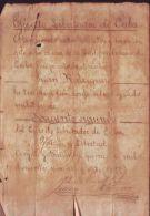*BE55 CUBA INDEPENDENCE WAR CORONEL JUAN  P QUIJANO - Autographes
