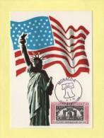 Monaco - Independance Des Etats Unis - Cloche -  N°1055 - Maximum Cards