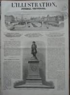 Inauguration De L'écluse De Léry-sur-l'Eure  1863 - Books, Magazines, Comics