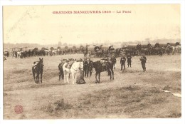 CPA Militaria Grandes Manoeuvres 1909 - Manoeuvres
