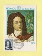 Monaco - Louis De Saint Simon -  N°1010 - Cartas Máxima