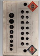 Blister Catalogue Boutons - Boutons