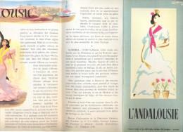 Brochure Dépliant - Toerisme Tourisme - Espagne - L' Andalousie - Dépliants Touristiques