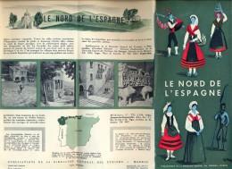 Brochure Dépliant - Toerisme Tourisme - Espagne - Le Nord - Dépliants Touristiques