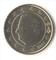 ** 50 CENT BELGIQUE 2001 PIECE NEUVE ** - België