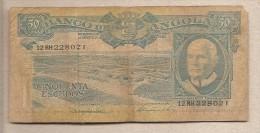Angola - Banconota Circolata Da 50 Scudi - 1962 - Angola