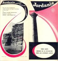Brochure Dépliant - Toerisme Tourisme - Jordanie - Folklore Excursions - Dépliants Touristiques