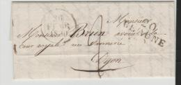 FP041/  Frankreich - Beaune - Dijon 1830 Mit Textinhalt - 1801-1848: Précurseurs XIX